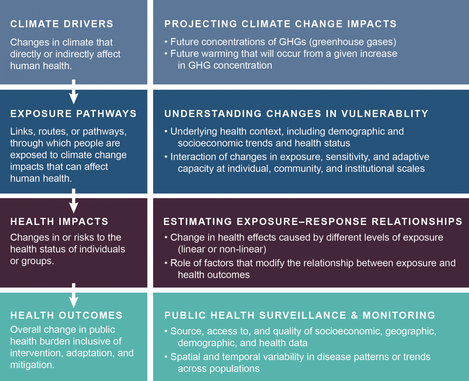 human impact of climate change