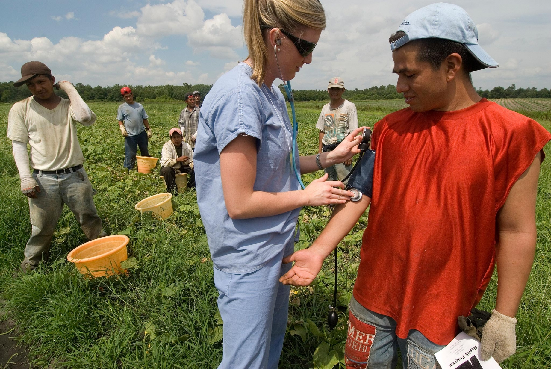 Nurse and migrant worker