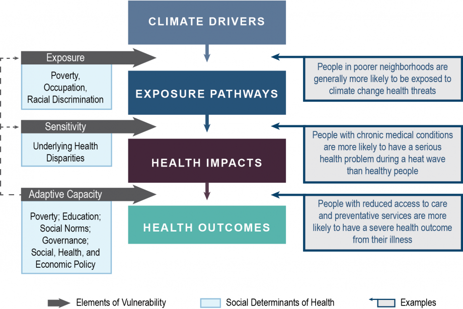 Figure 9.2: Intersection of Social Determinants of Health and Vulnerability
